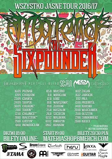 materia + sixpounder
